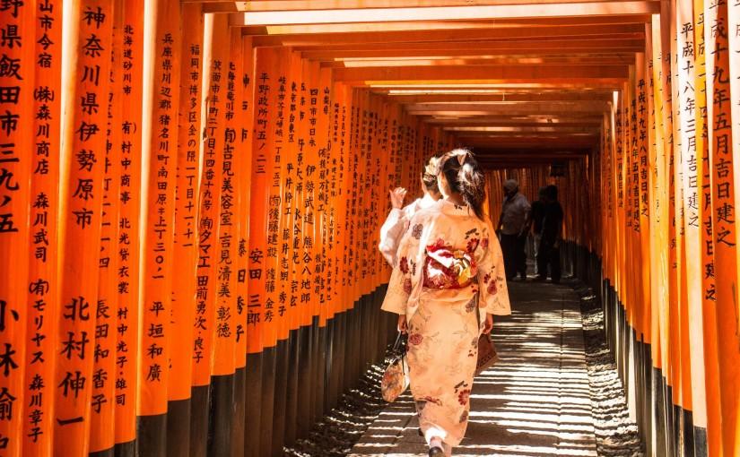 Aftellen naar JAPAN