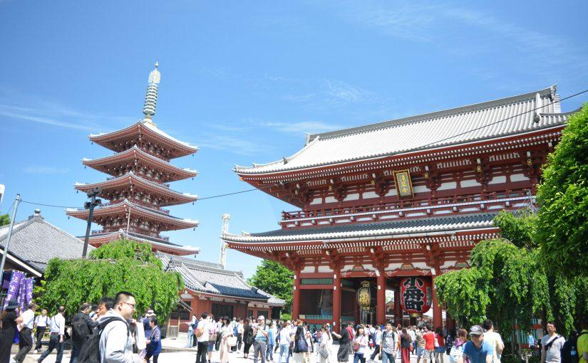 Japan dag 2 – Tokyo – Senso-ji en Ueno Park
