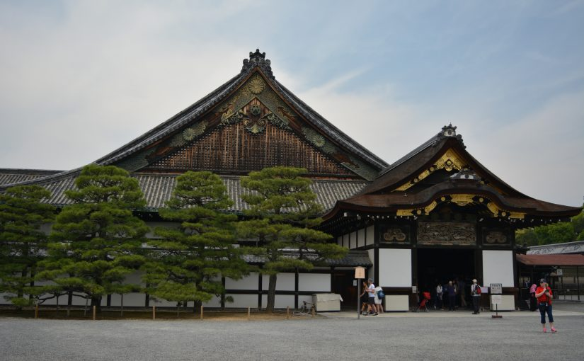 Japan dag 8 – Kyoto – Nijo Castle, imperial Palace & Fushimi Inari by night